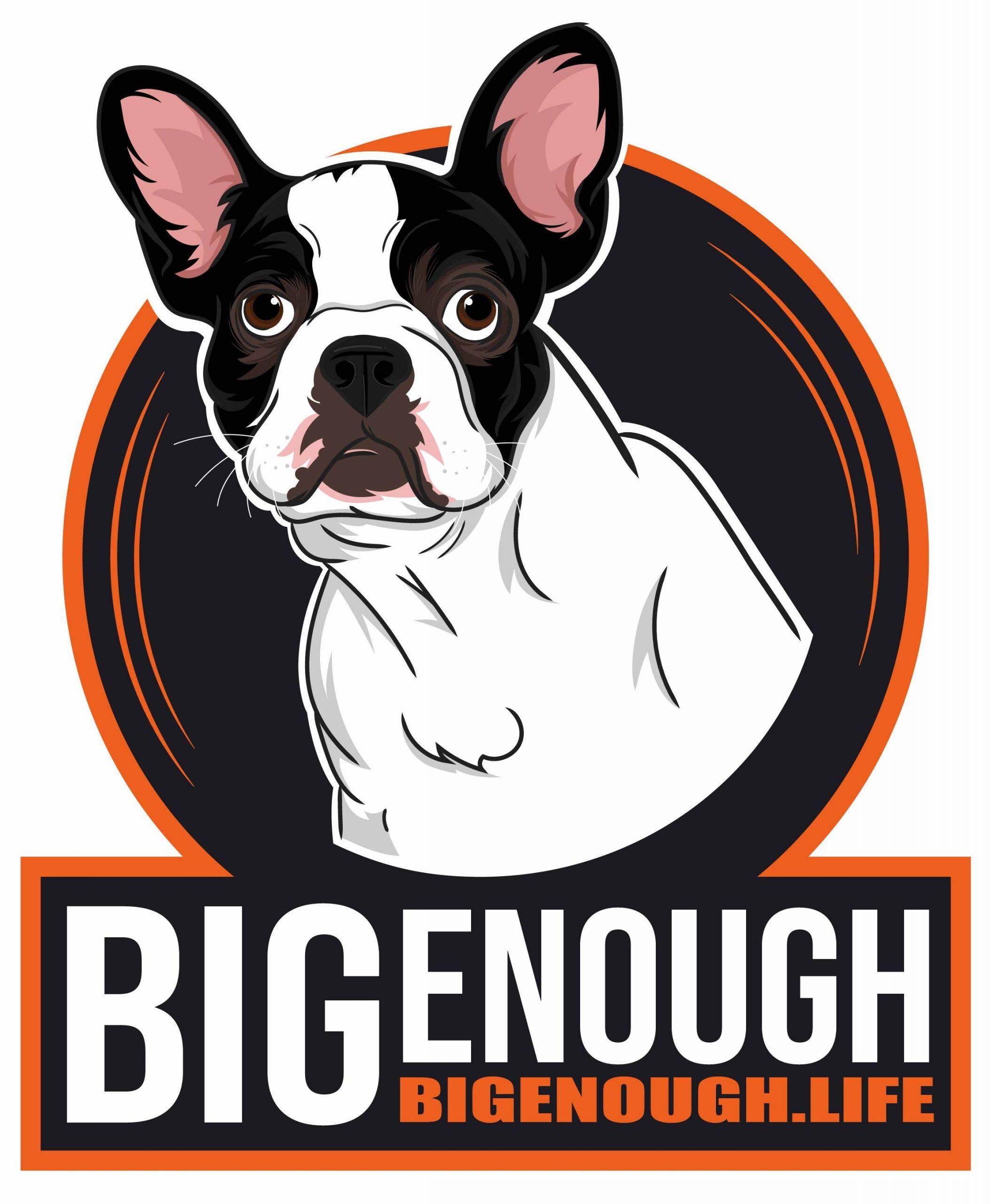 Big Enough Final Dog Illustration