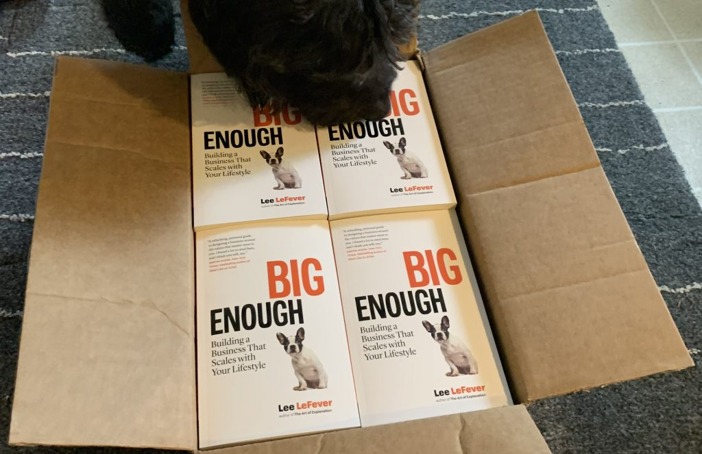 box of books - big enough