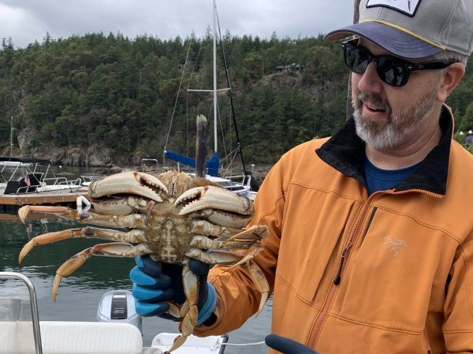 Big Dungeness Crab