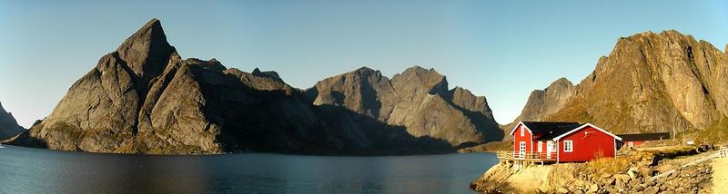 Lofoten isalnds landscape in Norway