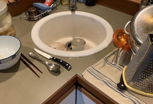full-sized sink